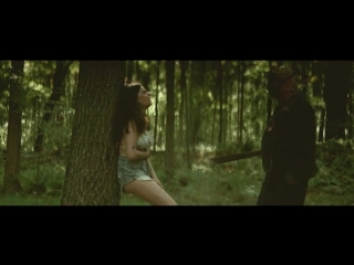 Friday The 13th fan made trailer_machete_impale_belly_woods