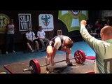 Давыдов Александр (тяга 250 кг.)