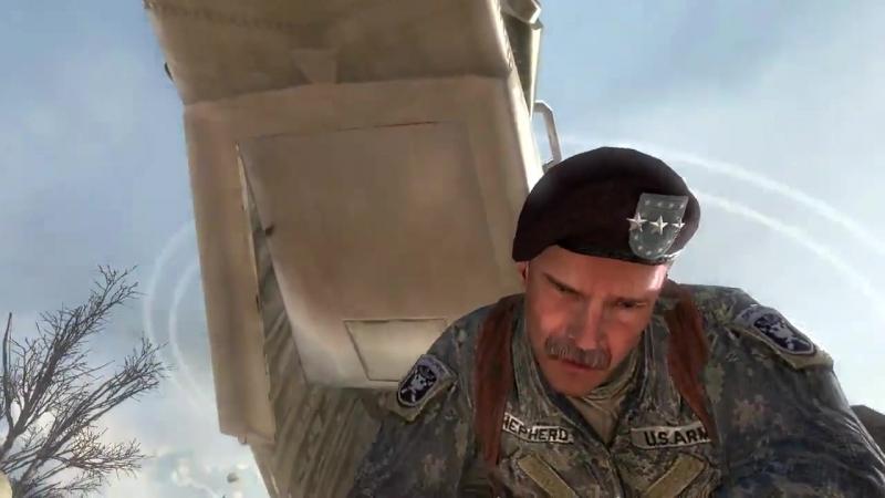 Call of duty 6 Modern Warfare 2 Смерть Гоуста и Роуча или Предатель ство Шепарда