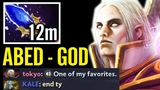 Abed Invoker God 12min Scepter - WTF Farm Brutal Combo Dota 2 Gameplay