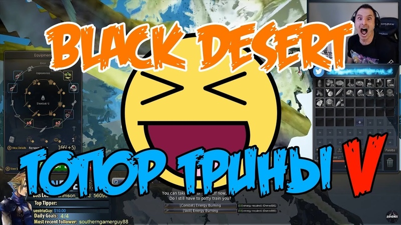Best and Funny Moments Black Desert | Trina Axe PEN | Twitch highlights