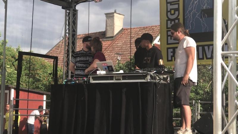 Djs Fonky Lovers plus Dj Electric Festival Akalla By Sweden 16.06.2018