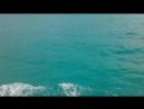 Необыкновенные цвета вод Карибского моря.