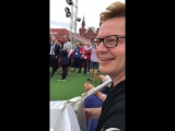 11 июля месте со звёздами футбола на Красную площадь вышли СЕРГЕЙ ВОЙТЕНКО, БАЯН МИКС и другие музыканты! 06