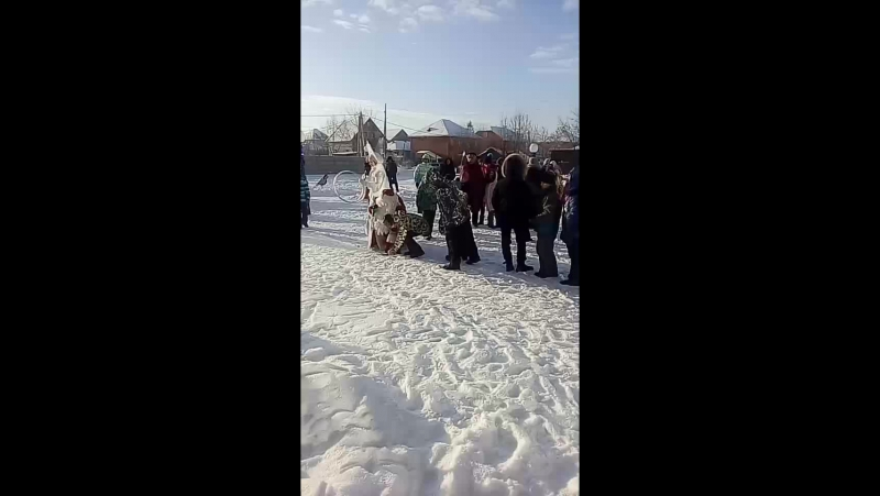 Новый год в ЖК Крымский