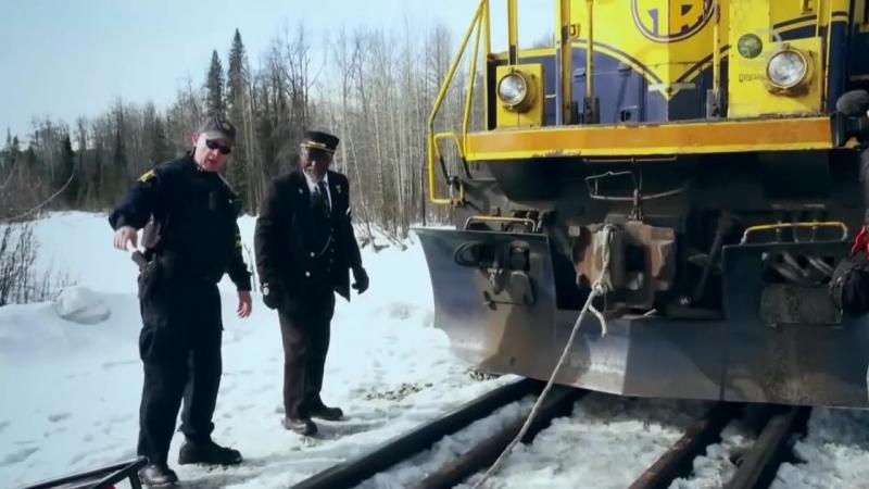 Железная дорога Аляски серия 3