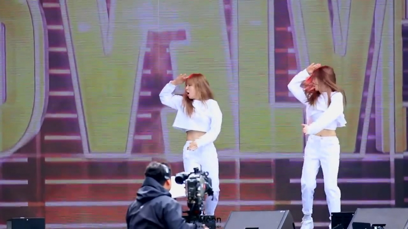 150912 Red Velvet - No.1 (BoA Cover) Wendy Focus @ DMC Festival Rehearsal Fancam