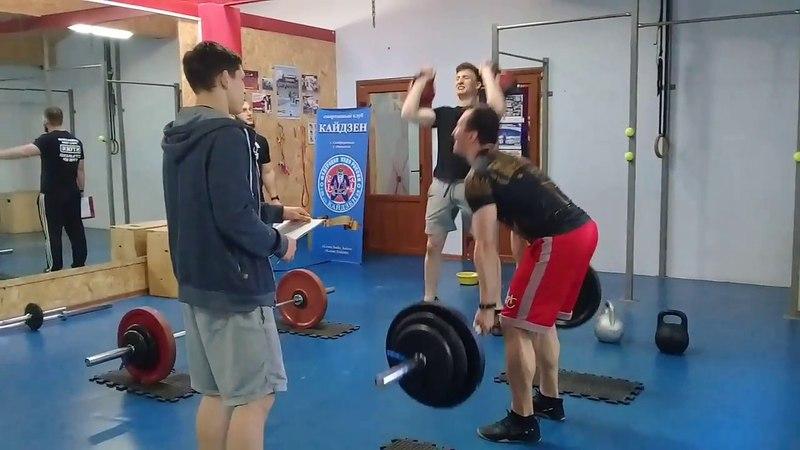 CrossFit-заруба в Феодосии 15.04.2018. Мужчины А. Финал. 1 поток