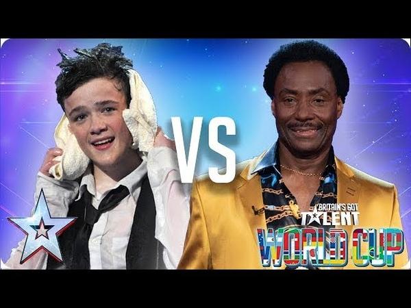 George Sampson vs Donchez Dacres   Britain's Got Talent 2018