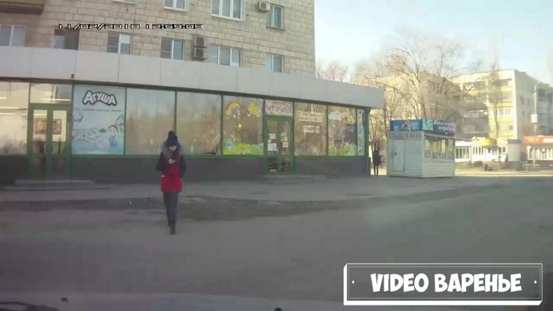 Почти лобовая авария (VIDEO ВАРЕНЬЕ)