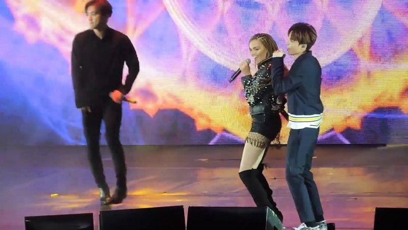 [042018] Super Junior ft. Leslie Grace Lo Siento Live at SS7 Argentina (Short Ver HQ)