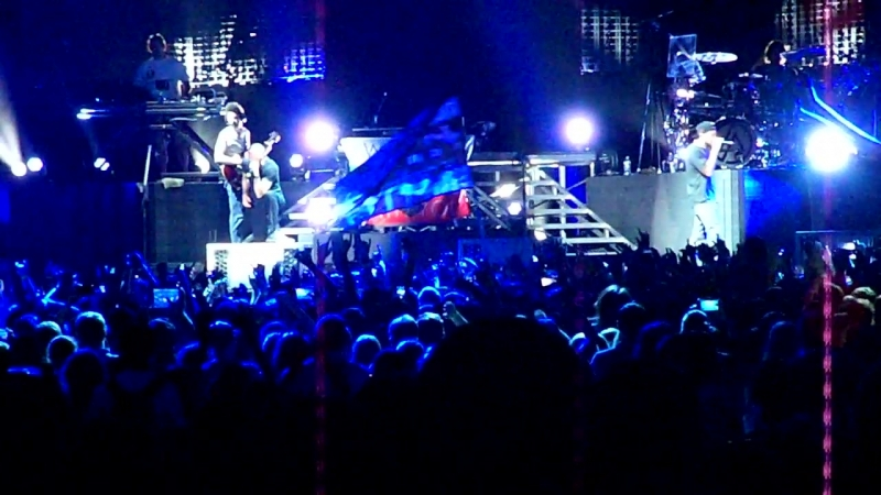 Linkin Park Live in Moscow 02/06/2014 Points Of Authority