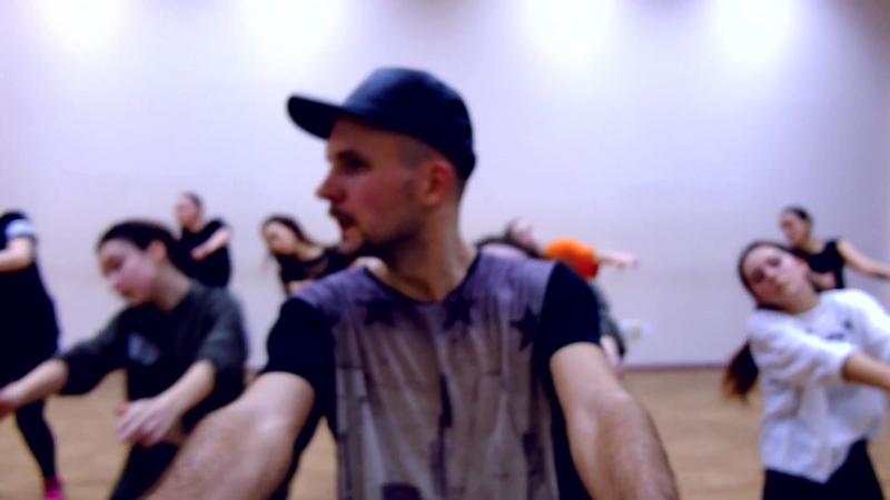 Akirman Dancehall workshop. Cheboksary 28.12.2017