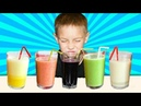 Learn Colors with Fruits and Blender for Babies and Preschool Kids - Nursery Rhymes SongN