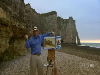 David Dunlop 8-Этрета, Франция. Пейзаж, дающий вдохновение