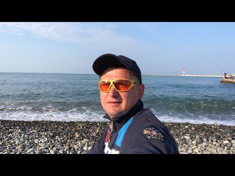 🔺✅ Доброе утро Купаюсь в Чёрном море Турник Краткий отчёт риэлтора