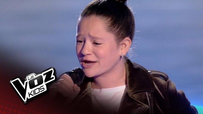 Nayra: Vivir sin aire Semifinal La Voz Kids España 2018