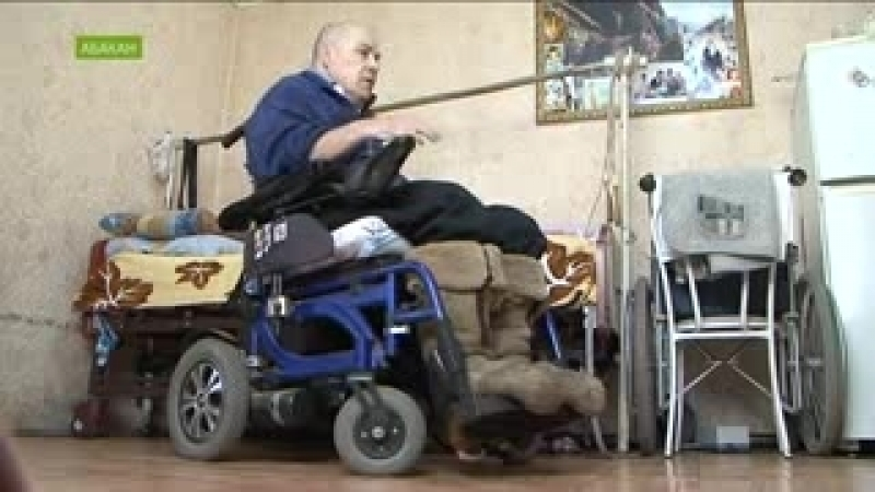 Инвалиду выдали кресло-убийцу I Черногорск I Видео: NotaBene