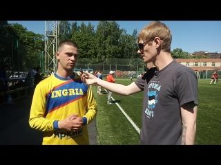 Интервью с Мирославом Побединским после победы над