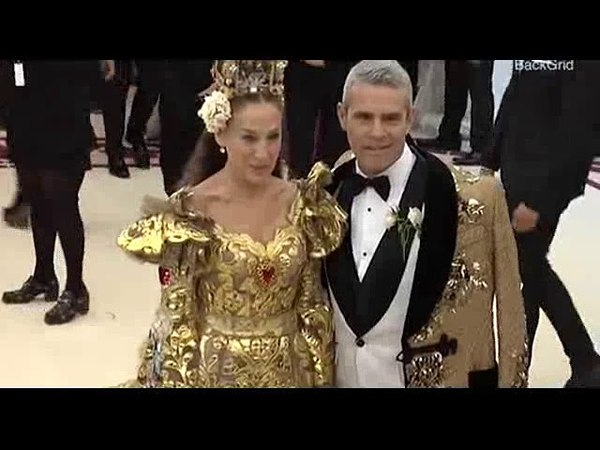 Sarah Jessica Parker and Andy Cohen look regal at Met Gala