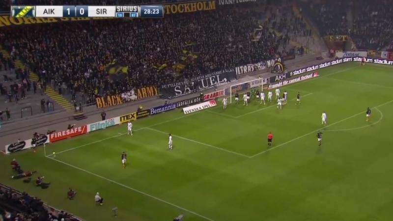 Allsvenskan 2018 AIK 2 0 Sirius Uppsala