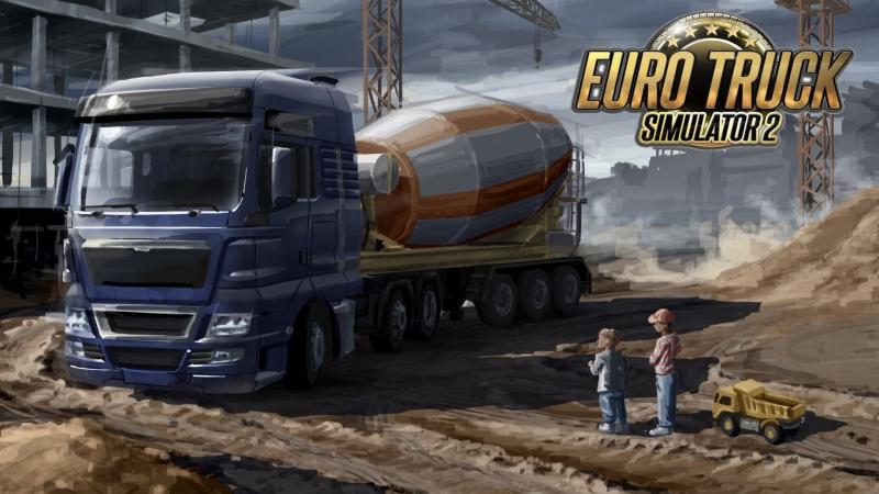 Челендж на 12 гоночных запчастей, поехали вместе?   Euro Truck Simulator 2