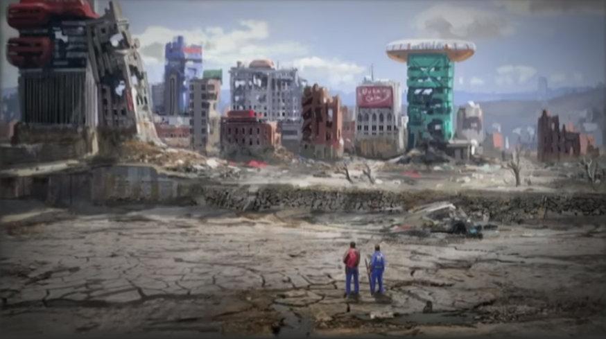 Пару артов Fallout76