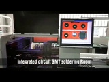 Integrated circuit SMT soldering