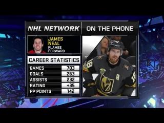 NHL Tonight: James Neal Jul 3, 2018