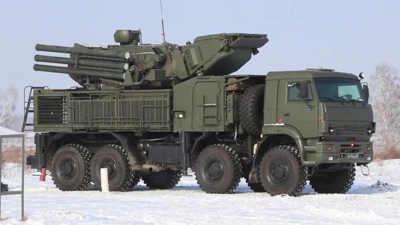 Расчеты ЗРПК «Панцирь-С1» отразили налет авиации условного противника в Сибири