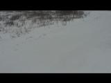 Дорога в Ишаки в снегопад  #таванен