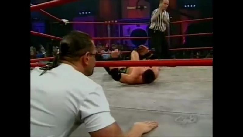 TNA Impact 31.12.2005 | ЭйДжей Стайлз пр. Джеймса Шторма
