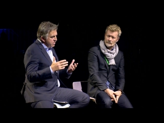 Magne Furuholmen and Osvald Bjelland at the Xynteo Exchange_Norway 2017