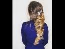 Греческая причёска на длинные волосы 😇👰🏼