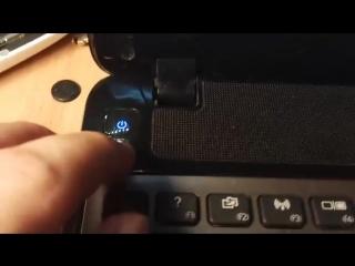 Частая поломка кнопки питания у Packard Bell