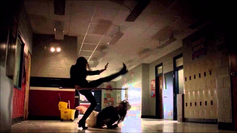 The Vampire Diaries Season 4 Finale Katherine and Elena Fight Each Other