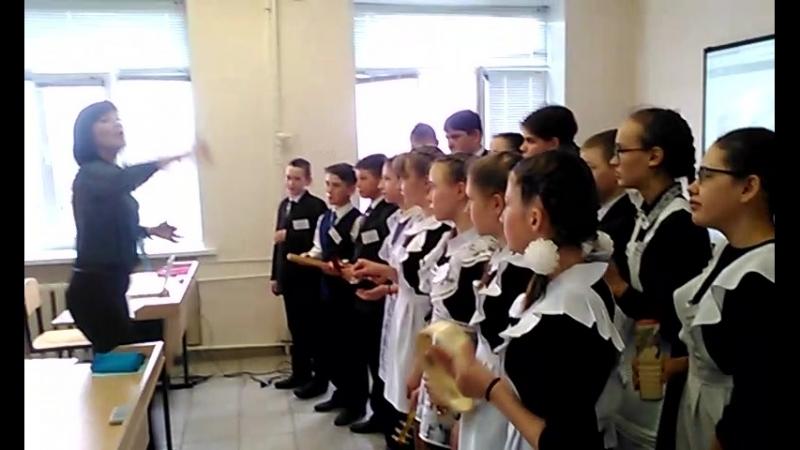 МОУ Новомалыклинская СОШ - Во поле береза стояла