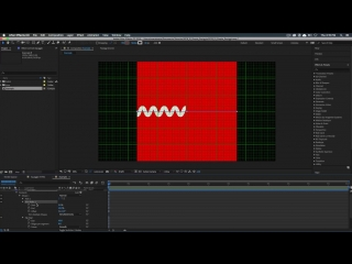 Simple Squiggling Line - Adobe After Effects tutorial