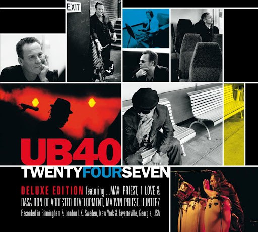 UB40 альбом Twentyfourseven (Bonus Track Edition)