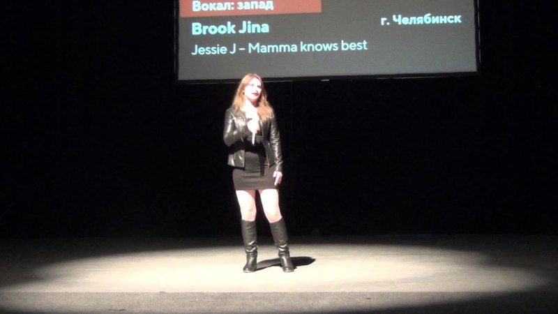 M.O.Con 2018: Cover by Brook Jina (vocal) - (Jessie J - Mamma Knows Best)