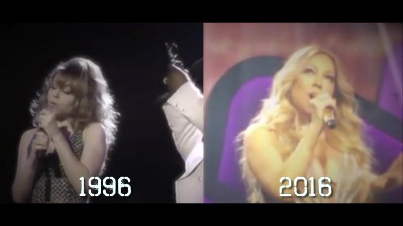 Mariah Carey One sweet day(live)