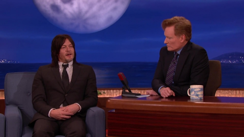 Norman Reedus On Daryls Sexuality - CONAN on TBS