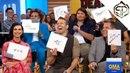 Каст Дэдпул 2 играют в Дэдпульные признания на Доброе утро Америка