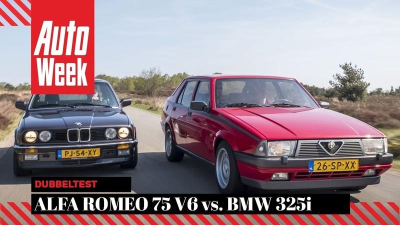 Alfa Romeo 75 V6 vs BMW 325i - Classics dubbeltest