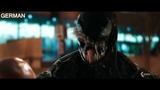 Venom's voice in 10 languages