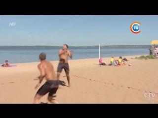 На Минском море прошел первый этап Чемпионата РБ по пляжному волейболу