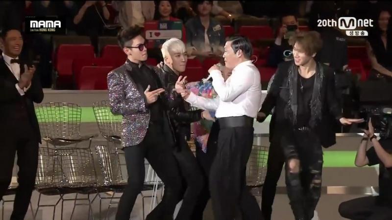 PSY - '나팔바지(NAPAL BAJI) 'DADDY 'GANGNAM STYLE(강남스타일) in 2015 MAMA