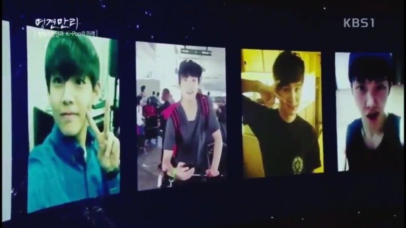 The audience, MC and Bang PD-nim reactions when Bangtans predebut photos pop up THIS IS SO CUTE SUCH SMOL BABIES