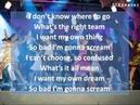Zac Efron Troy Bolton Scream Instrumental Karaoke w Lyrics on screen HQ