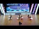 Чемпионат Европы по спортивным танцам 25 февраля 2018 в Керлинг центре 5